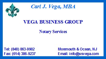 * Notary Public Services VBG